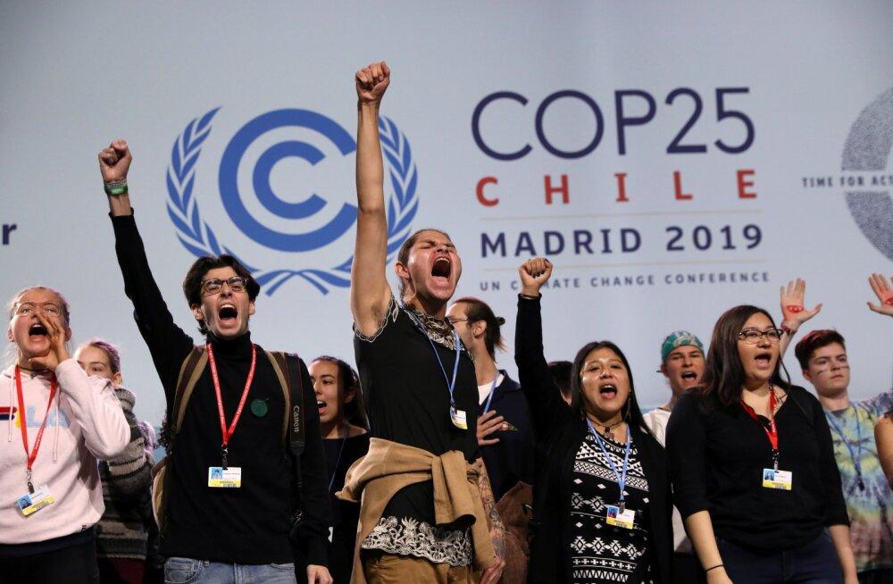 Kliimakonverentside juurde käivad alati ka keskkonnakaitsjate meeleavaldused.