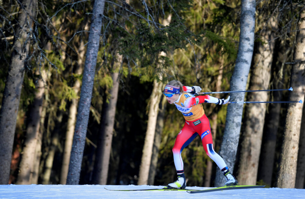 Norra pidupäev: Johaug jätkab ainuvalitsemist, Norrale kaks kolmikvõitu