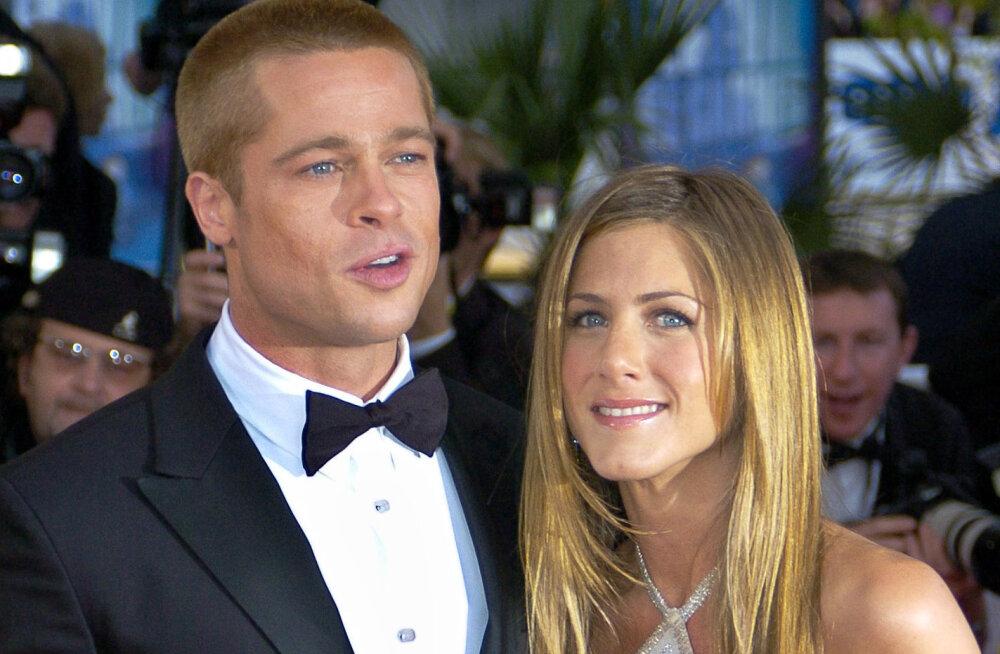 Kas Brad Pitt ja Jennifer Aniston on taas armunud? Pittil on sellele eriti mitmetähenduslik vastus