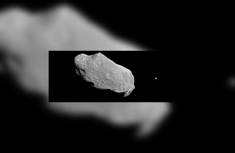 Miks väikesed asteroidid koost ei lagune?