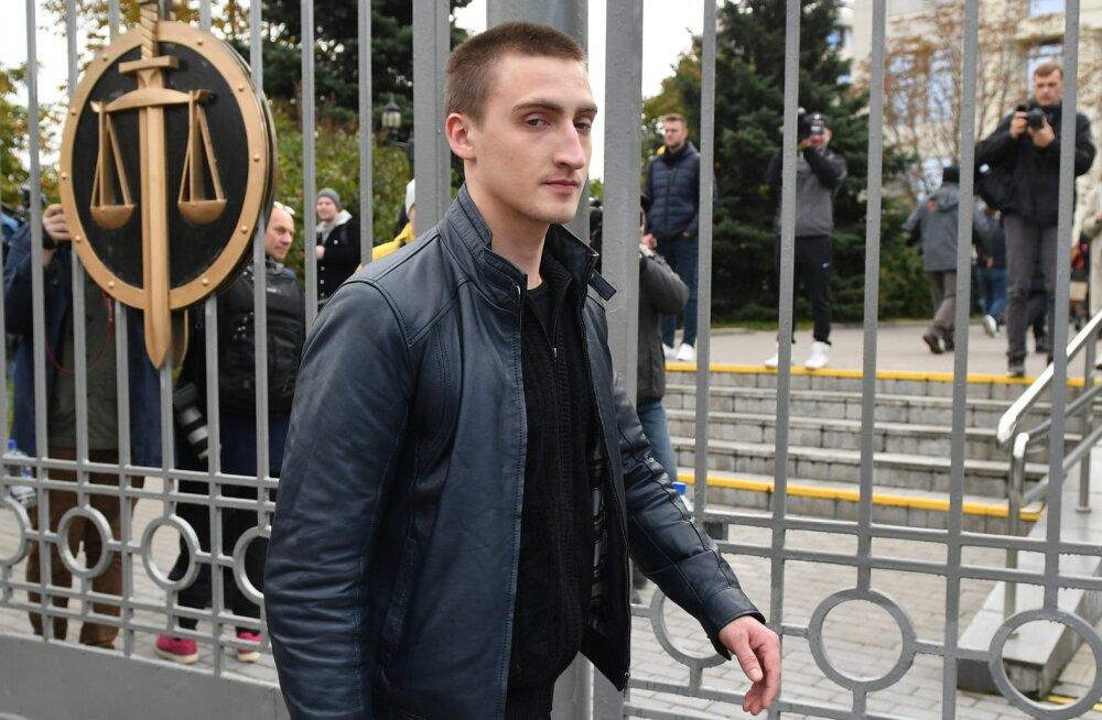 Росгвардеец в суде назвал причину задержания Устинова