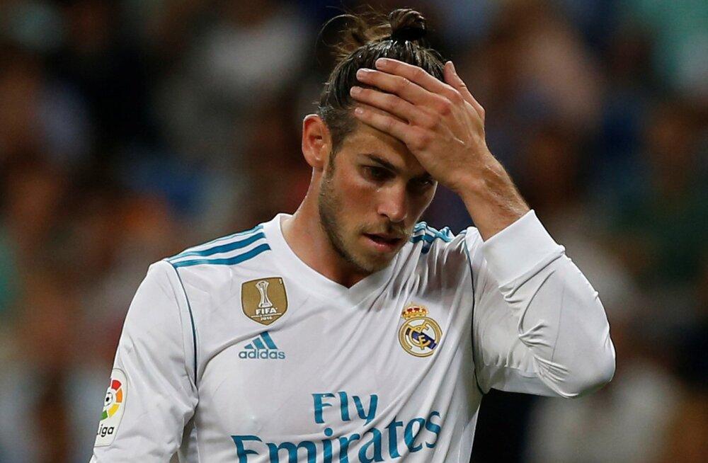 Gareth Bale'il ei ole viimasel ajal Realis just parimad ajad.