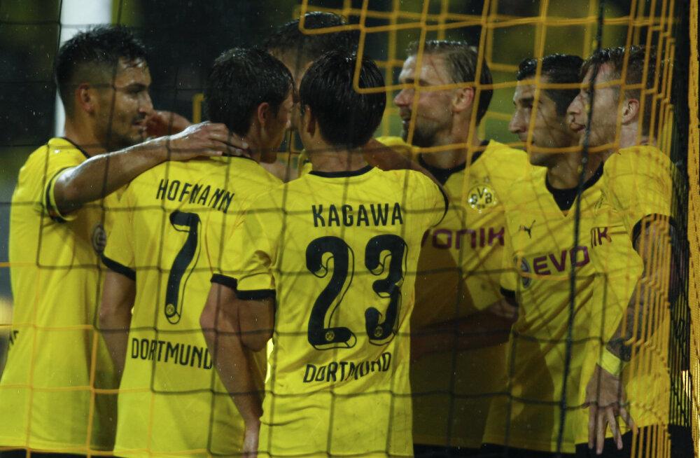 Euroopa liiga: Southampton põrus, Dortmund lõi norrakatele seitse