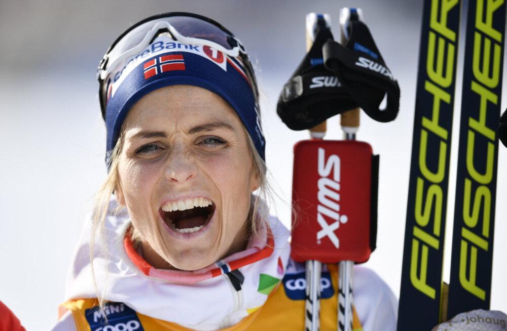 Therese Johaug taas konkurentidele võimalust ei jätnud, kaks soomlannat esikuuikus