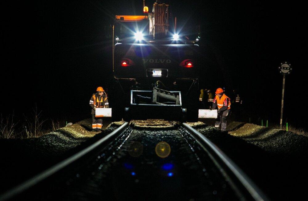 Raudtee ehitamine ei ole eestlastele mingi võõras töö. Kindlasti saadakse hakkama ka Rail Balticu ehitusega.