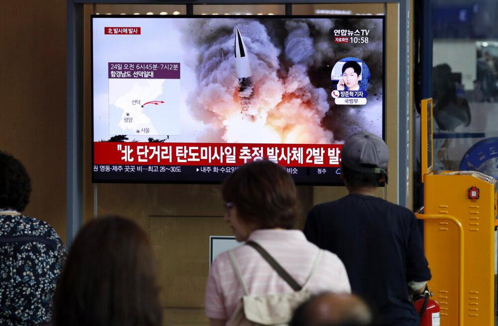 Põhja-Korea ei näi raketikatsetusi lõpetavat
