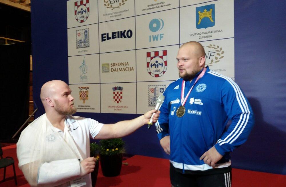 Karjääri kuuenda medali võitnud Mart Seim: täitsin miinimumeesmärgi