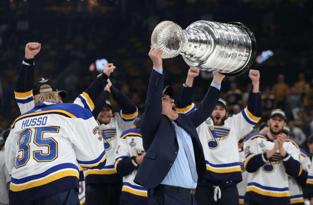 VIDEO | St. Louis võitis klubi ajaloo esimese Stanley karika