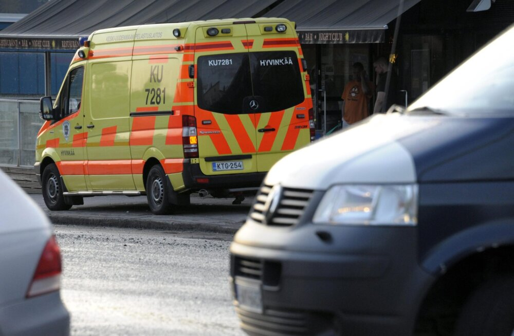 Soome politsei vahistas kahe mehe tapmiskatses kahtlustatavana Eesti kodaniku