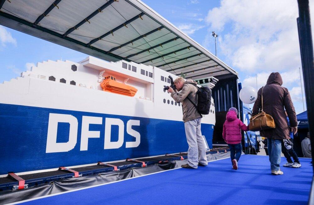 DFDSi Lego maailma suurim laev