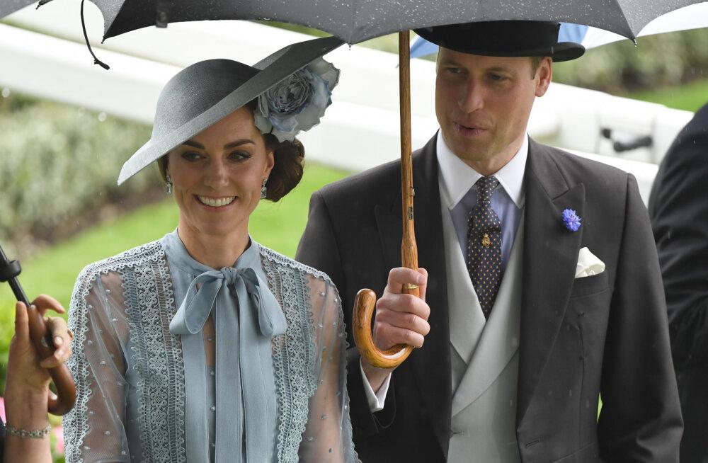 Kate Middletoni ulakas hüüdnimi noorele prints Williamile võtab suunurgad muigele