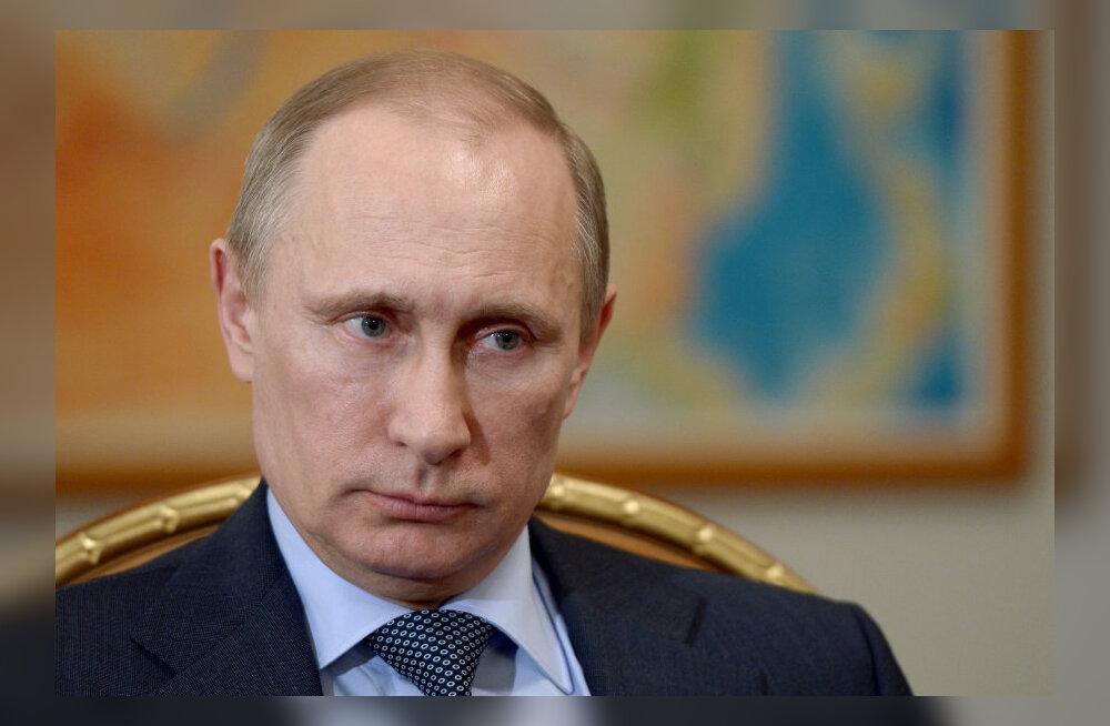 Eesti-Vene piirilepe seisab Putini otsuse taga
