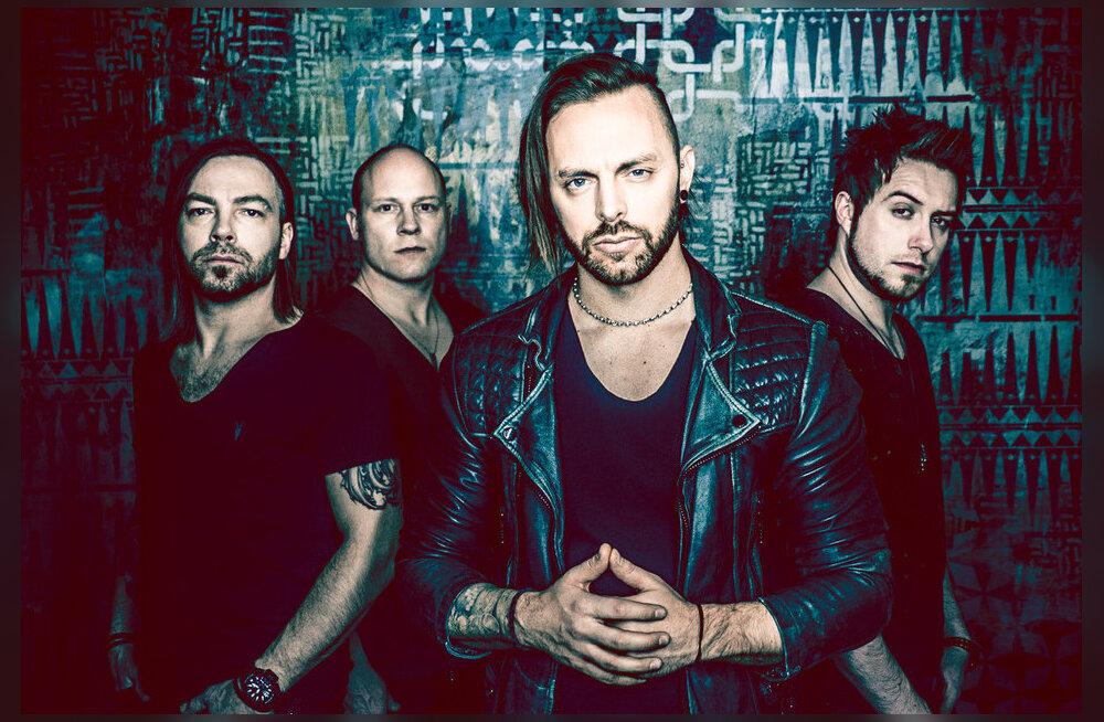 Ära maga maha! Briti metalbänd Bullet For My Valentine esineb järgmisel nädalal Tallinnas!