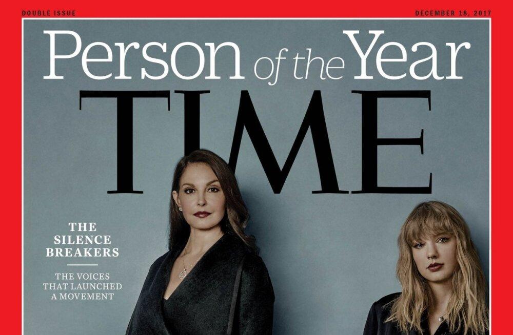 """Time назвал """"человеком года"""" рассказавших о насилии женщин"""
