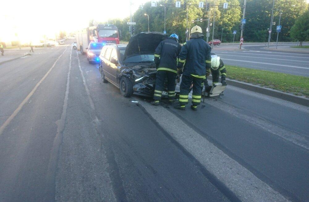 Liiklusõnnetus Mustamäel