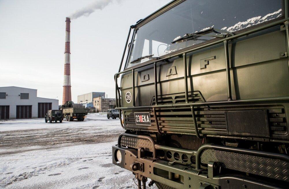 Logistikapataljon Tallinnas
