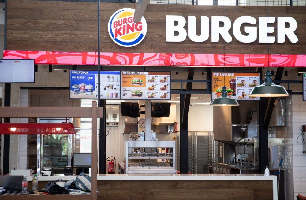 Balti jaama Burger King