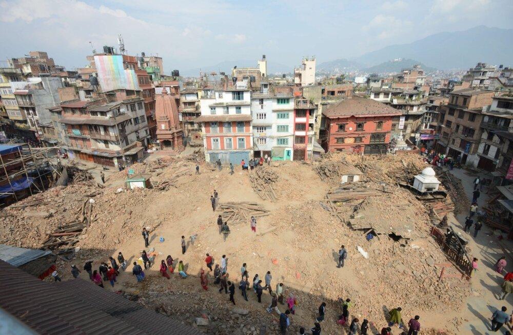 ÜRO: Nepali maavärin võis puudutada kuni kaheksat miljonit inimest