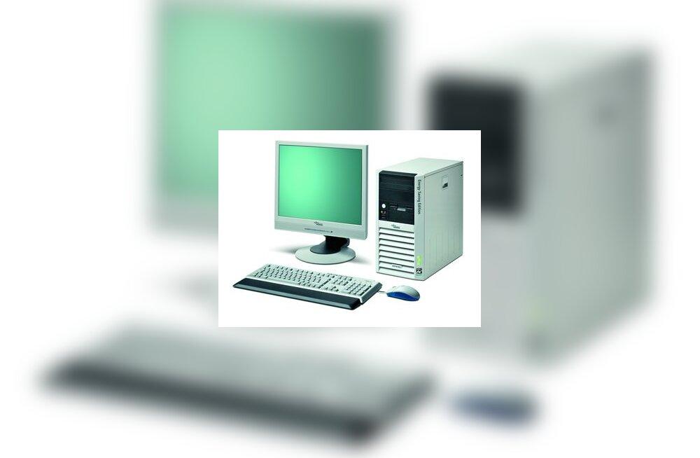 Energiasäästlik arvuti Esprimo