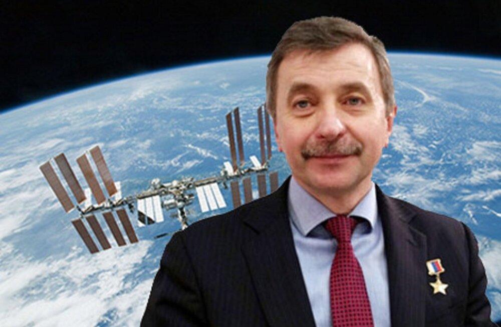 В Таллинне выступит российский космонавт Александр Лазуткин