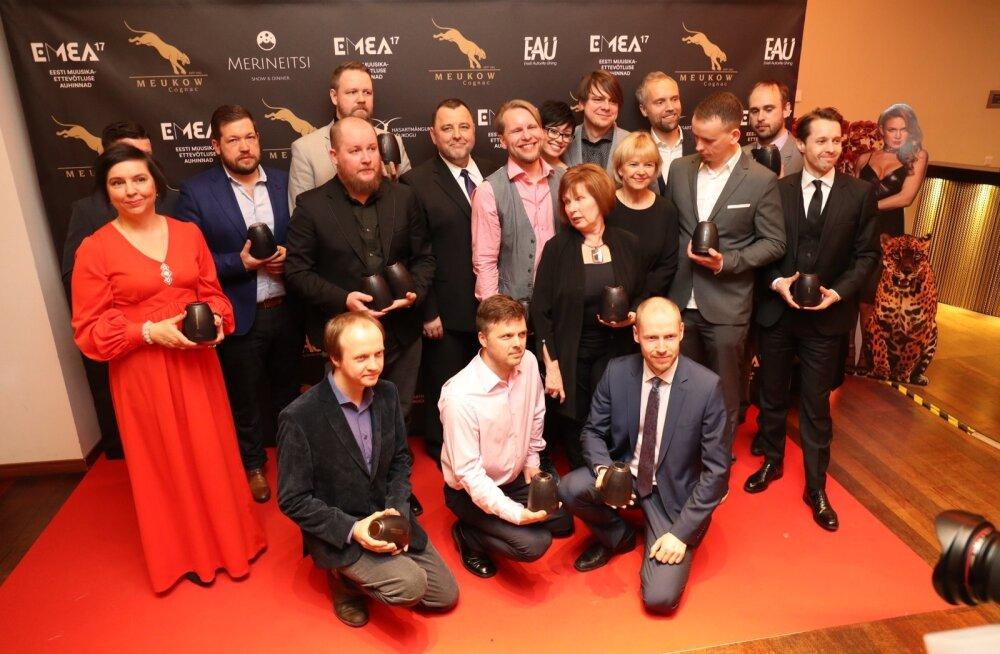 Selgusid Eesti Muusikaettevõtluse Auhinnad 2018 nominendid