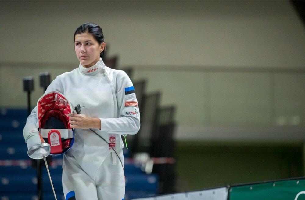 Julia Beljajeva ei tee maailma esimõõga tiitlist suurt numbrit.