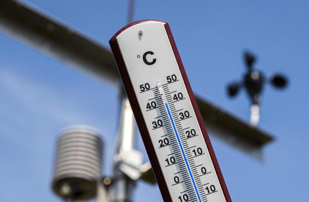 Lääne-Euroopas löödi eile mitmete riikide kuumarekordid, Prantsusmaal oli 46 kraadi