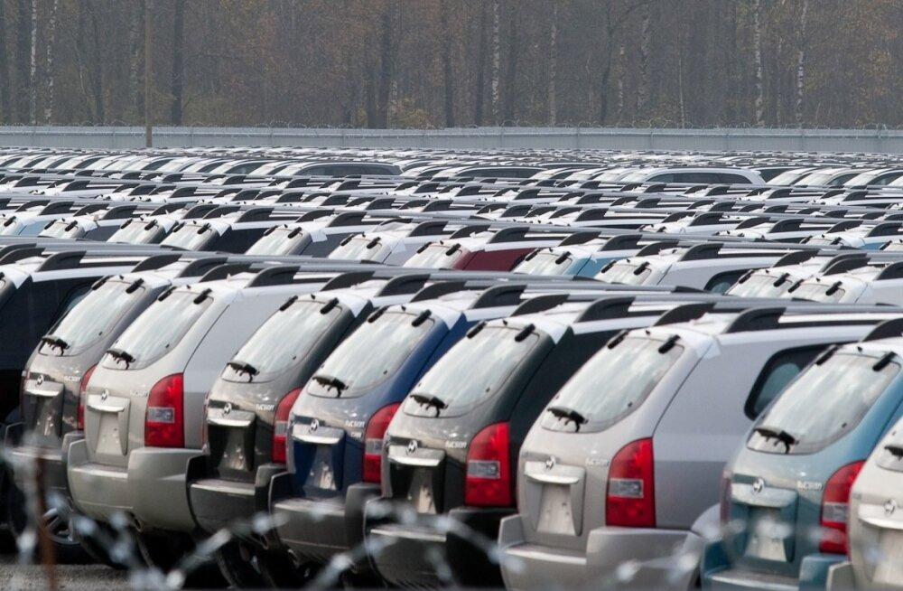 Uute autode müük Euroopas kasvas.