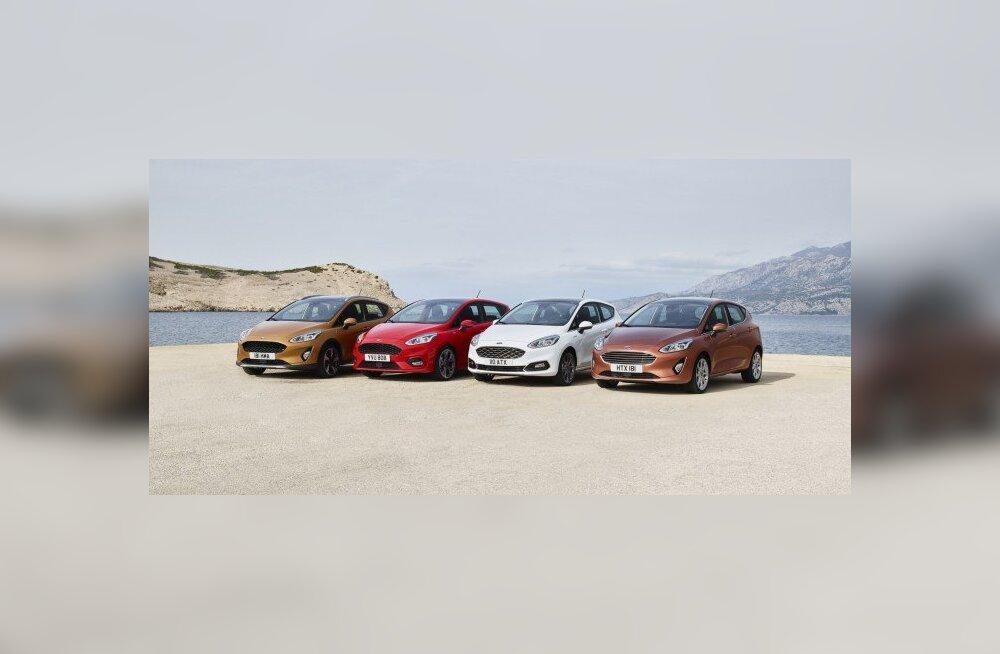 Pilk peale, käsi külge: uue Ford Fiesta kapis on koguni neli moodsat ülikonda!