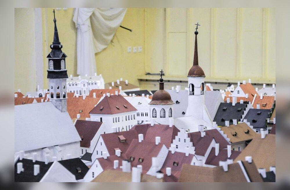 Narva Vanalinna makett