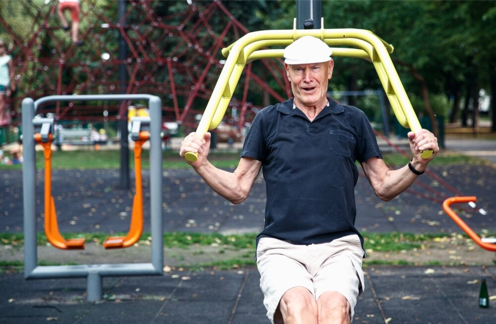Ragnar Viiru sõnul peab sportimisega kaasas käima tervislik liikumine, sest kui jääda liiga kauaks istuma, nullib see kõik positiivse, mis trennitegemisest on saadud