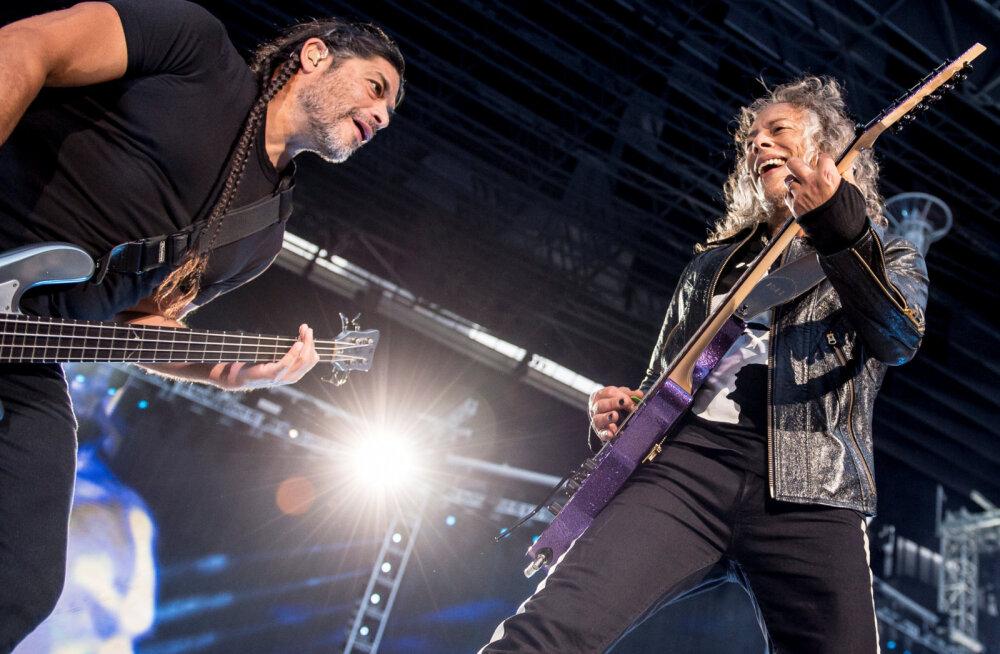 Soe süda! Metallica annetas 55 000 eurot Soome vähekindlustatud lastega peredele
