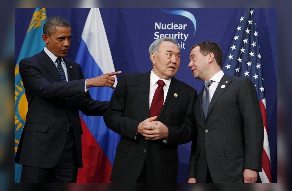 Medvedev: pooltuhat plahvatust näinud tuumapolügoon pole ohtlik