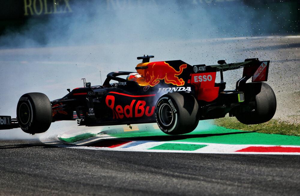 Bottas oli kiireim, Verstappen käis seinas, Vettel eelviimane