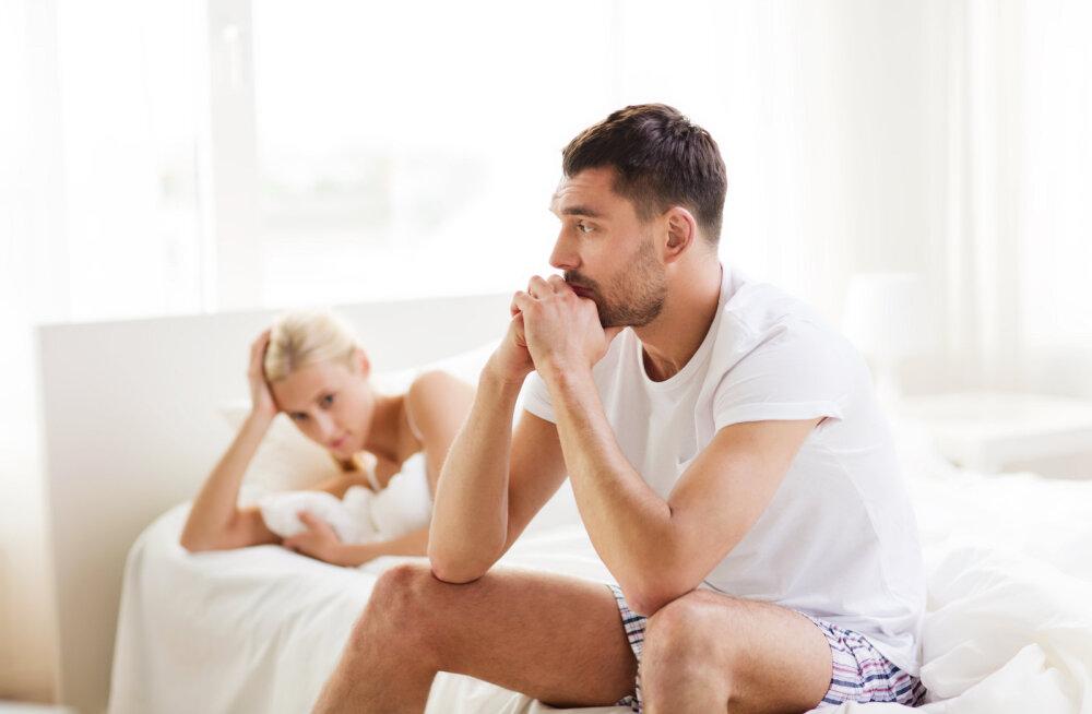 Lahutatud meestel esineb voodis üks oluline puudujääk, mis mõjutab kõiki nende edasisi suhteid negatiivselt