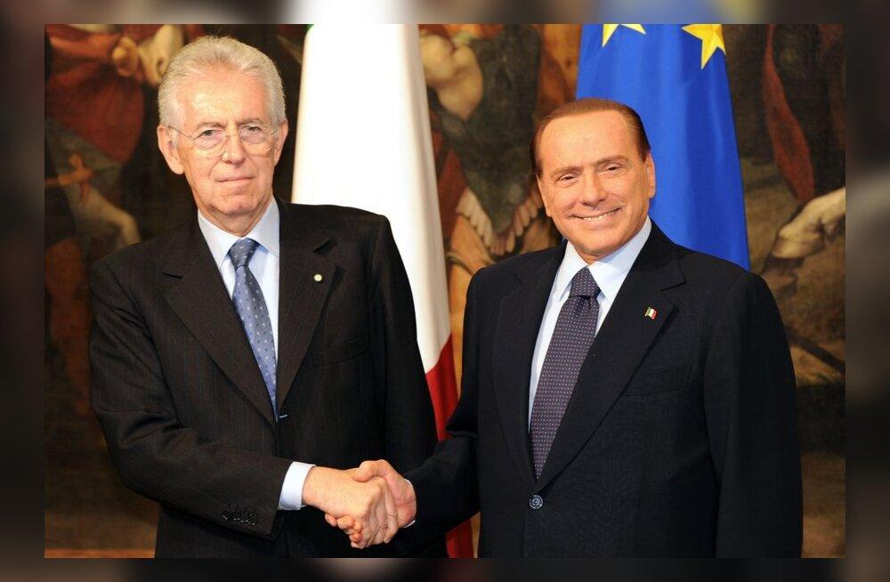 Meedia: Montile ja Berlusconile adresseeriti ähvarduskirjad