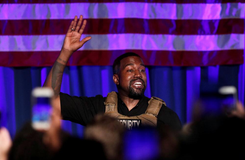 Ei loobu midagi! Kanye Westi presidendikandidatuur on ikka jõus