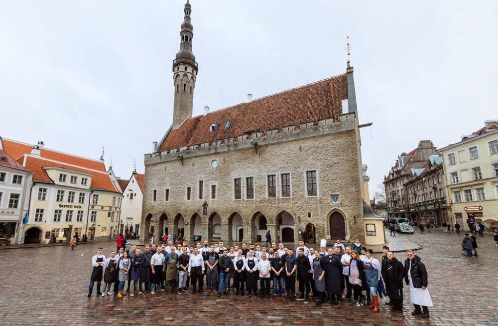 Самая масштабная в Эстонии неделя ресторанов угостила 16 000 человек