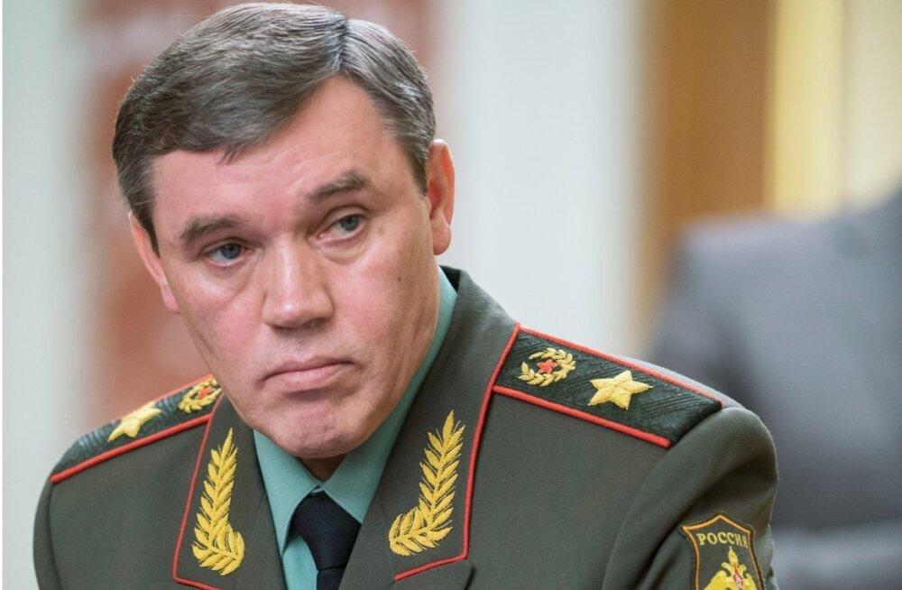 Venemaa kindralstaabi ülem: tugev tuumaarsenal tagab sõjalise üleoleku lääne ees