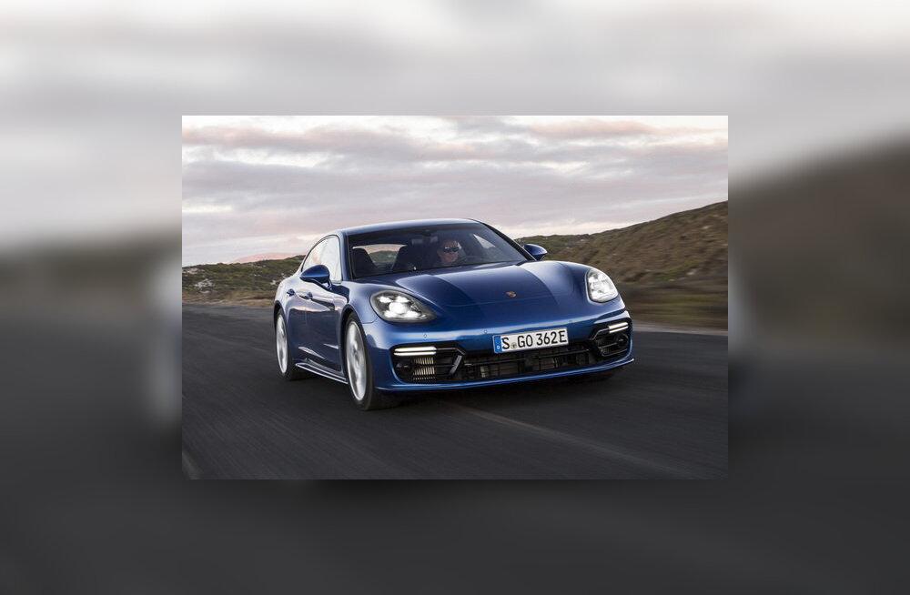 Porsche Panamera: kõigest hoolimata nauditav ja viit tärni vääriv auto