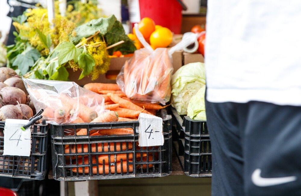 Kaubanduskeskuse esine turg surub tavaturu konkurentsist välja