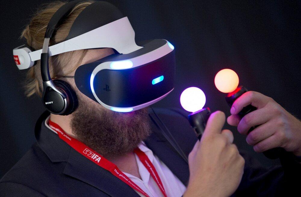 Virtuaalreaalsus-mänge sepitseb juba üllatav hulk arendajaid