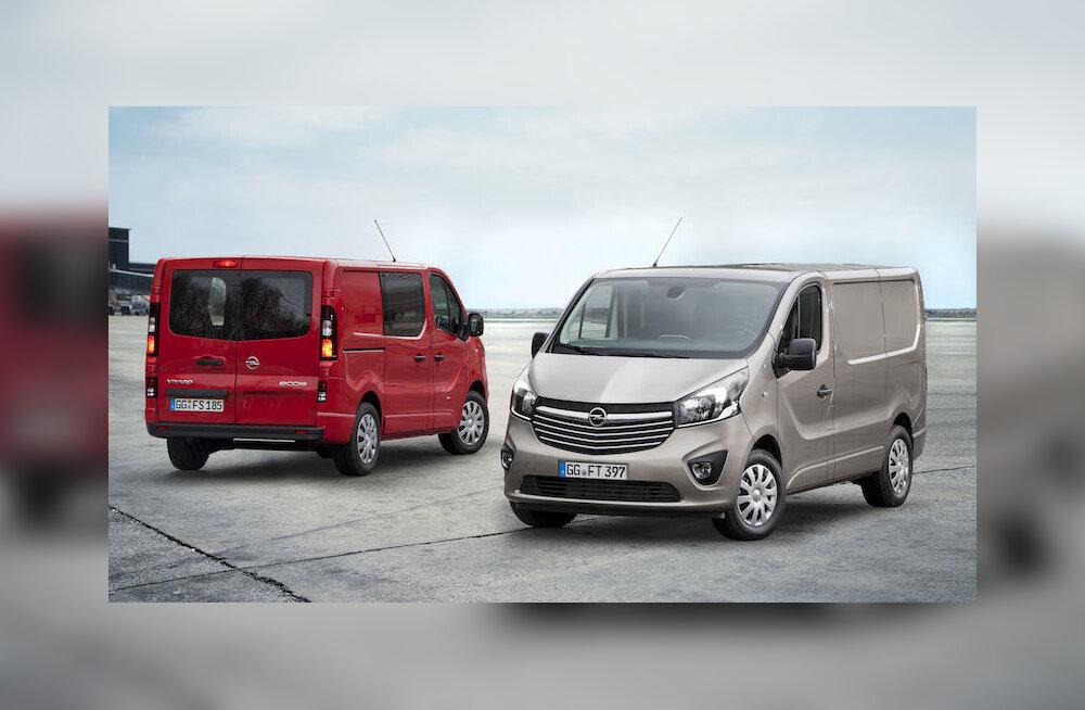 Aeg lendab: Opel Vivaro – särtsakas, mobiilne kaubamaja