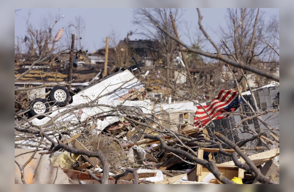 Kuus riigikogulast jäid USAs tapva tormi keskele