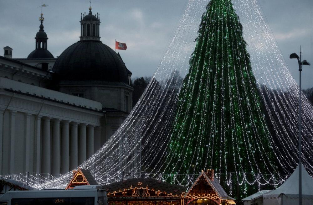 Грандиозный план Вильнюса: о главной елке будут писать СМИ всего мира