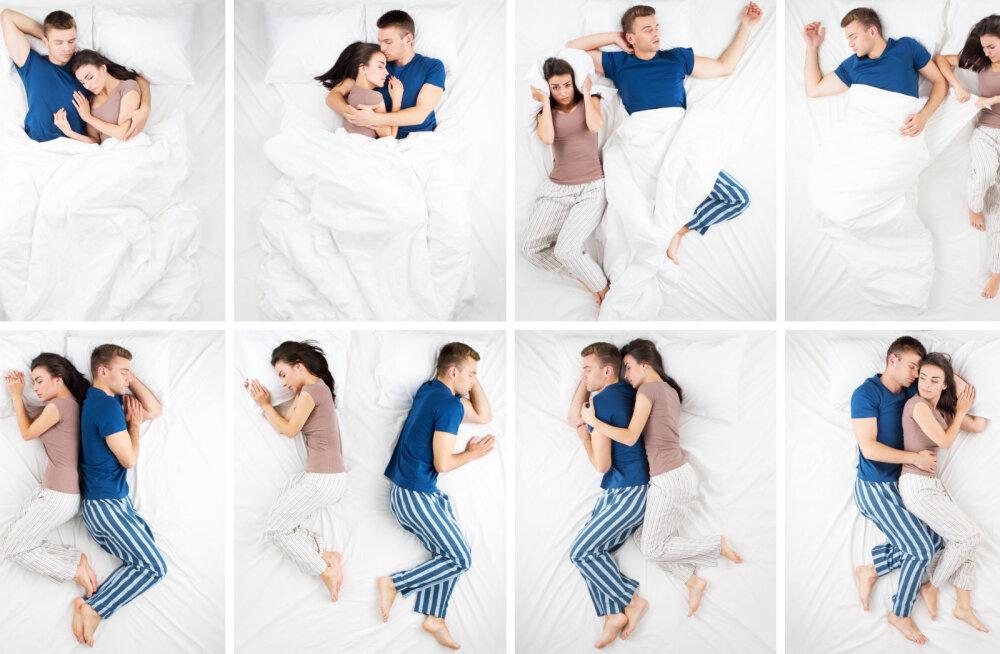 Mida magamisasend teie suhte kohta räägib? Ja miks olukord pole kõige parem, kui magate seljad koos?