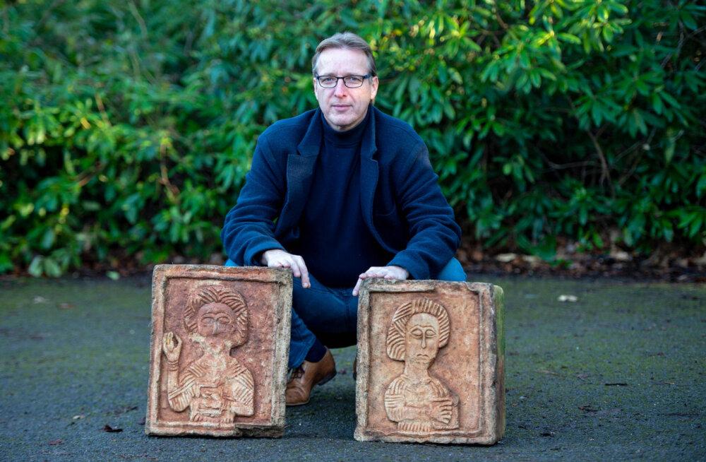 Бесценные похищенные произведения искусства нашлись в саду у жителя Лондона