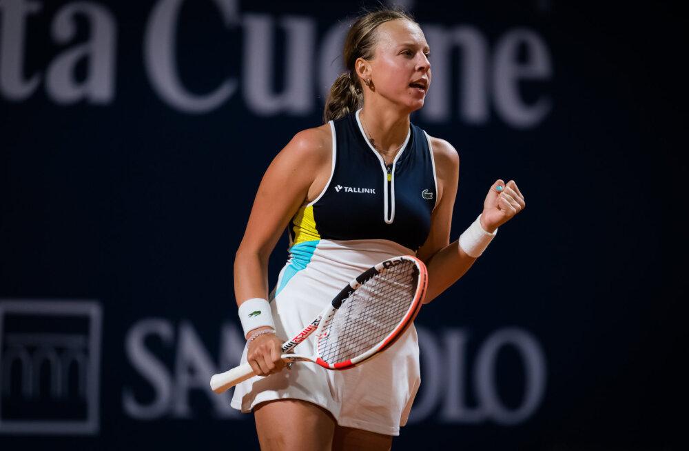 BLOGI | Anett Kontaveit alistas Sloveenia tennisisti ja pääses US Openil kolmandasse ringi