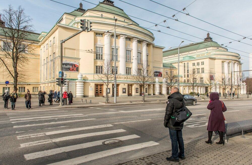 Estonia teatri ette tuleb Georg Otsa mälestusmärk