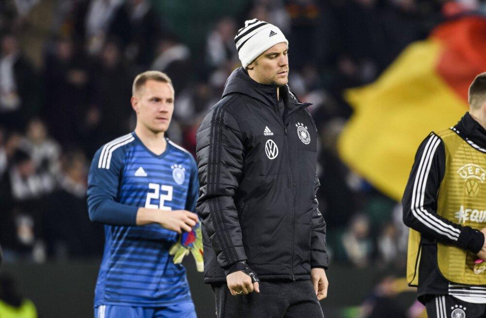 Bayerni absurdne nõudmine: kui Eesti vastu pole Neuer väravas, ei luba me oma mängijaid rohkem Saksamaa koondisesse